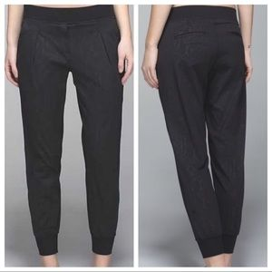 LULULEMON snake Yoga party Jogger Pants 6